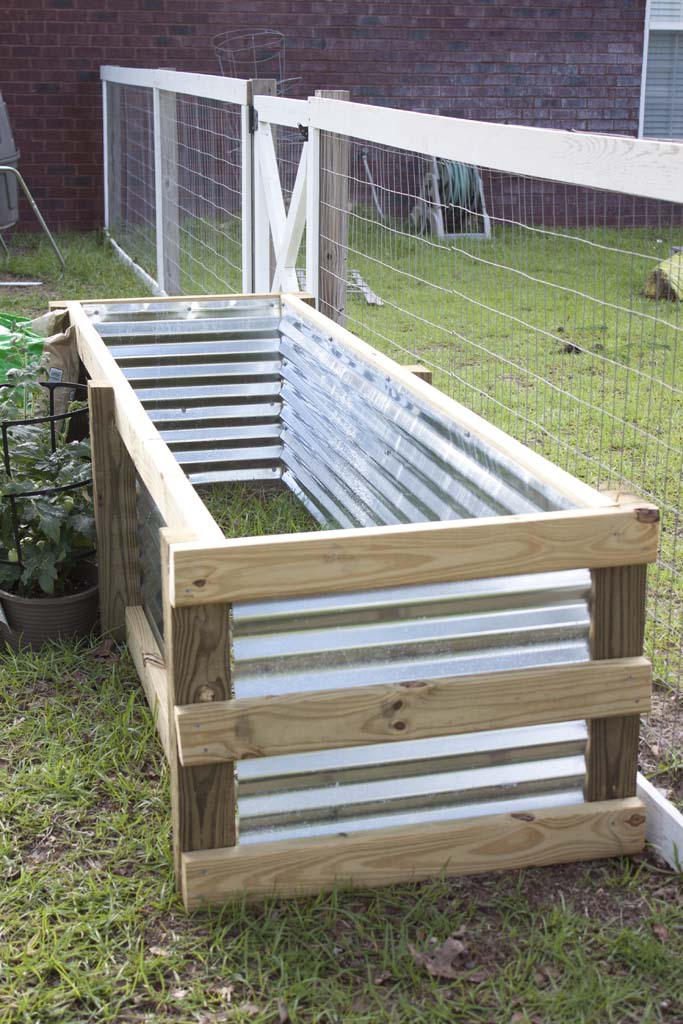 How To Build A Modern Diy Garden Box Southern Revivals
