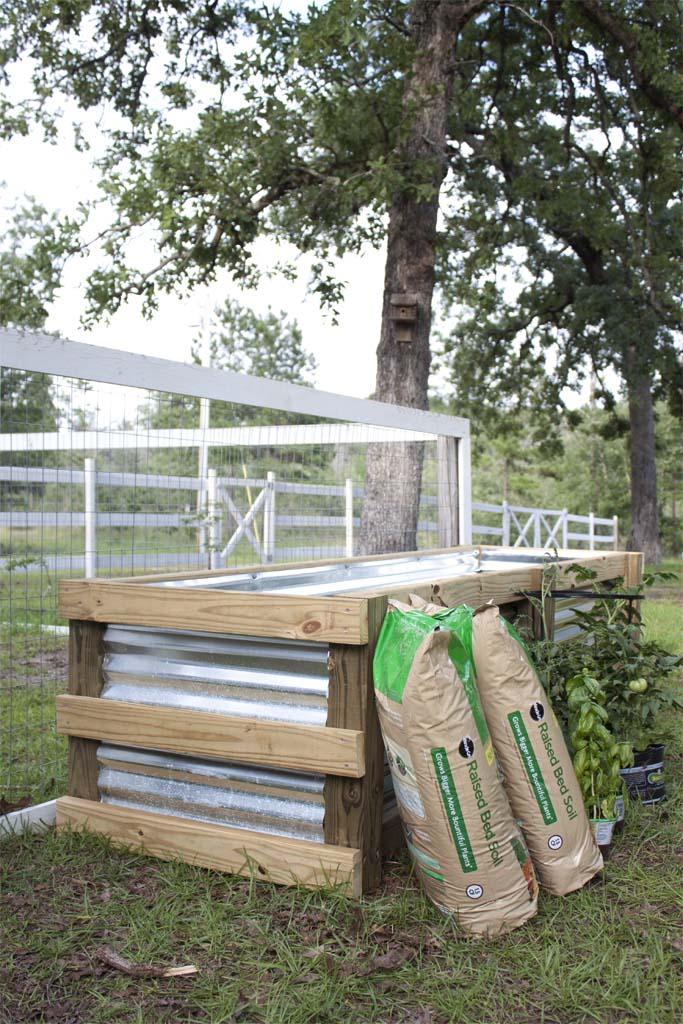 Modern DIY Garden Box