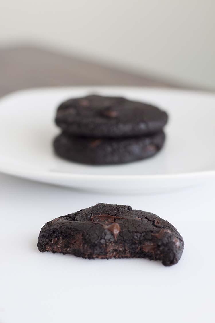 Double Dark Chocolate & Cherry Black Forest Cookies