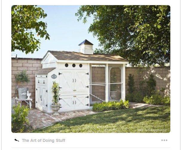 DIY Fancy Farmhouse Chicken Coop – The Plan