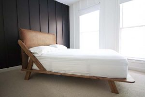Mid Century Modern DIY Platform Bed
