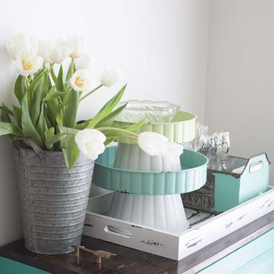 4 Ways to Style with Trays | Farmhouse Style for Spring
