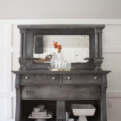 Antique Buffet Furniture Makeover | Client Files
