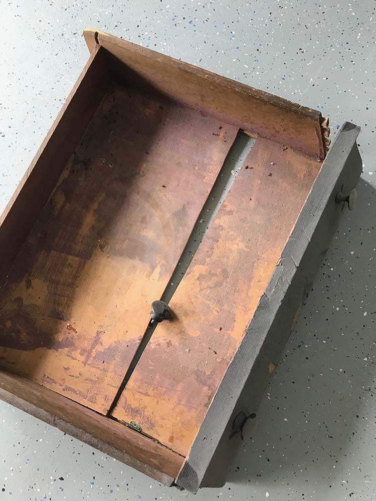 broken drawer