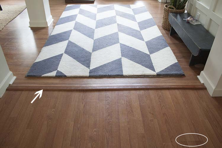 flooring black white rug