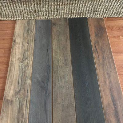 farmhouse style flooring samples