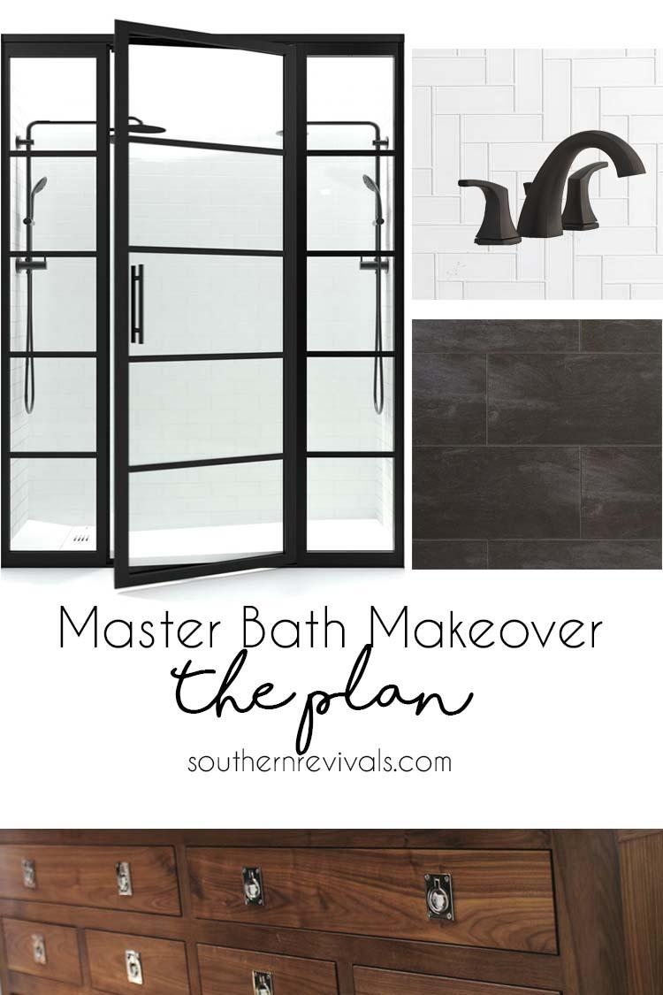 bathroom makeover mood board
