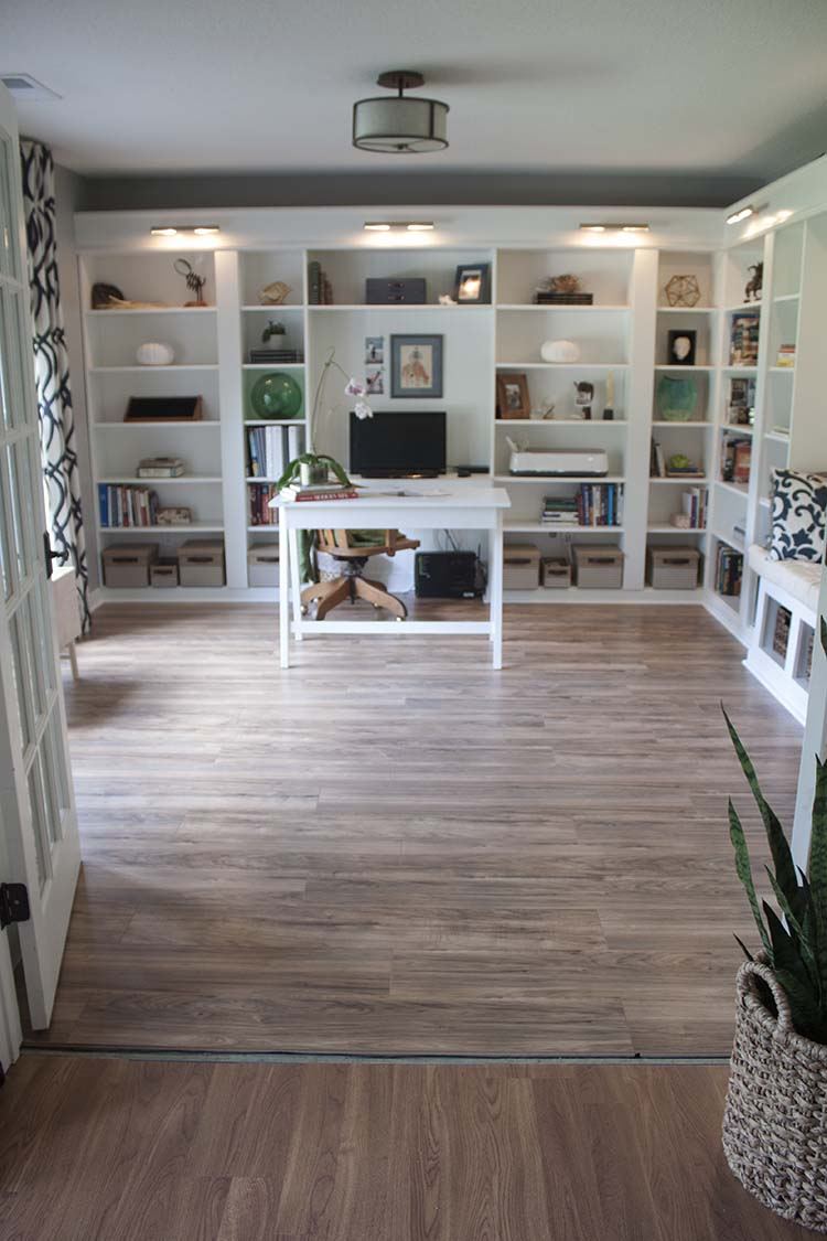 Our Modern Farmhouse Style Laminate Floors Made For Diyers