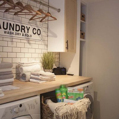 Laundry Room Makeover Sneak Peek