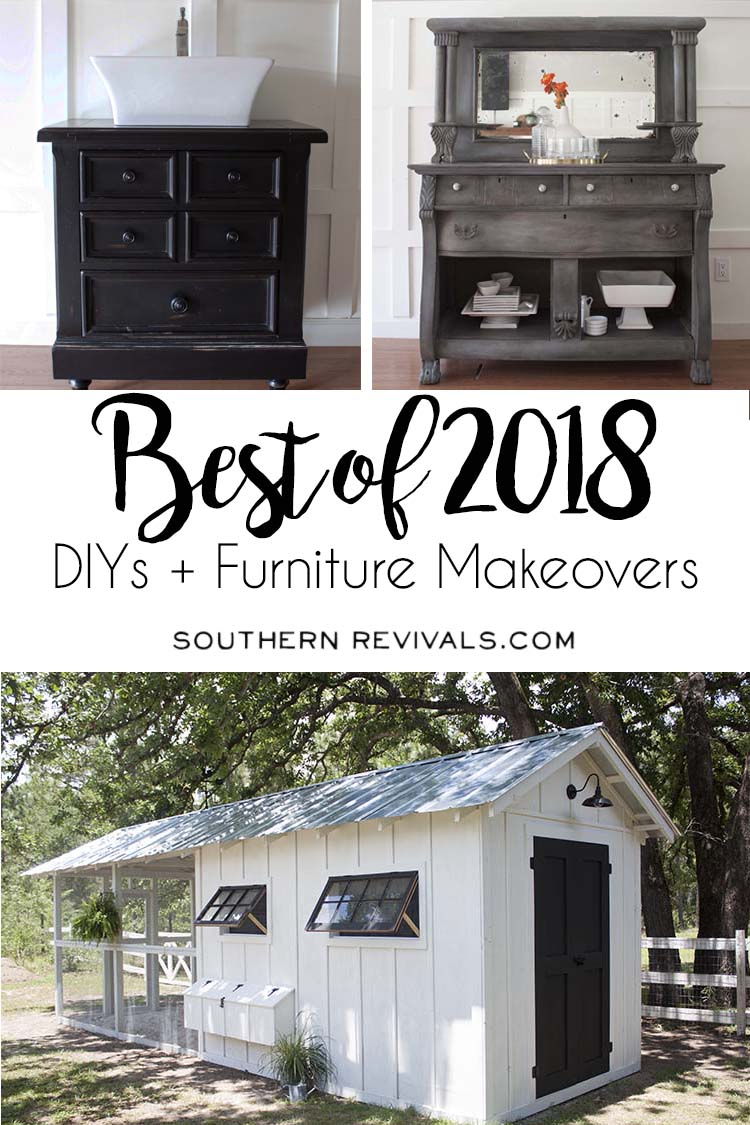 DIYs + Furniture Makeovers from Southern Revivals blog