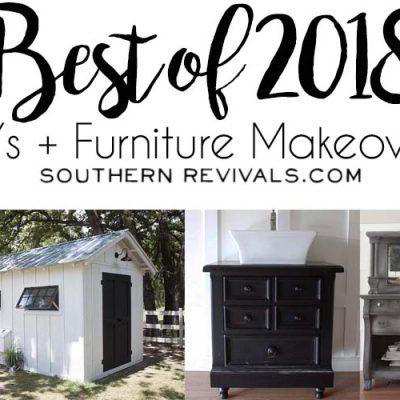 Best of 2018 – DIYs + Furniture Makeovers | Southern Revivals