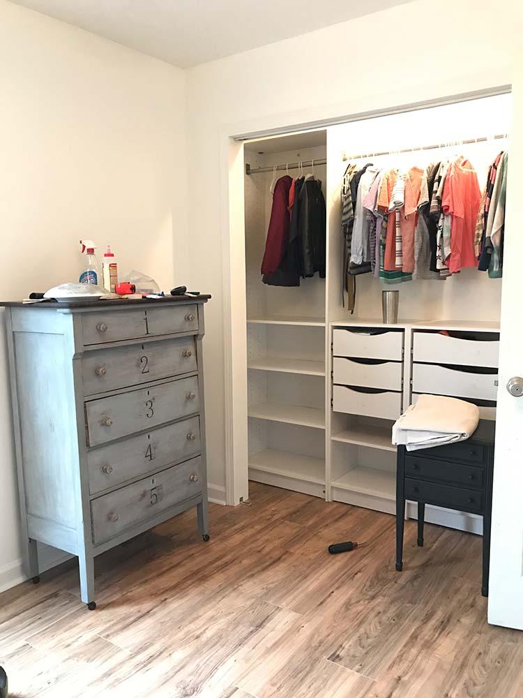 Closet Remodel After