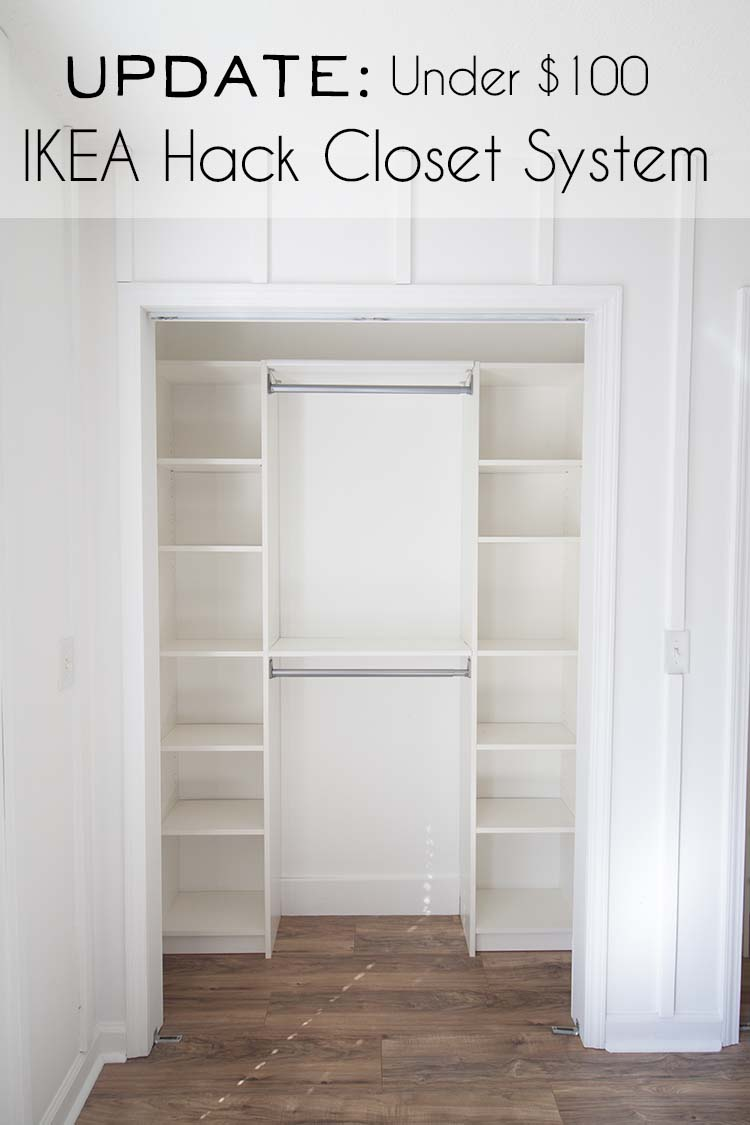 Ikea Hack Diy Closet System Update Southern Revivals