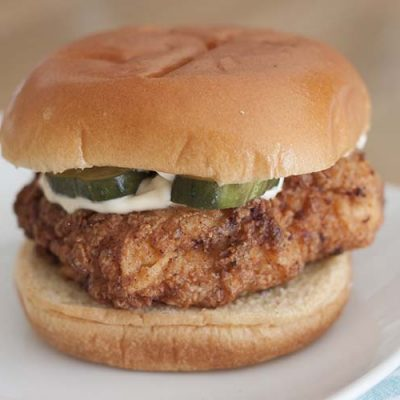 Copycat Crispy Chicken Sandwich Recipe